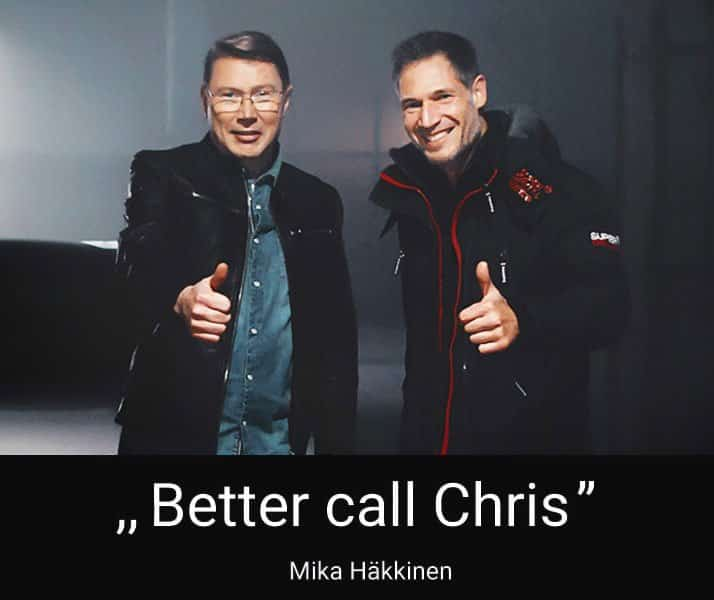 Zierhut IP - Markenanwalt - Mika Häkkinen empfiehlt uns